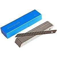 Ehdis® 9 millimetri Snap-Off Lame standard-duty, acciaio al carbonio Cutter Lama di ricambio, 45 ° (Carbonio Lama Lame)