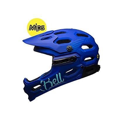 Bell Super 3R Mips Joy Downhill helmet Women blue Head circumference 55-59 cm 2017 downhill full face helmet from Bell