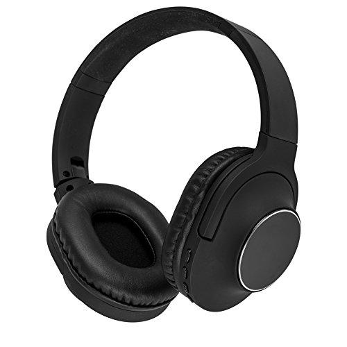 akai A58069JB wireless cuffie con microfono integrato per Samsung/iPhone/iPad/lettori MP3e tablet–nero