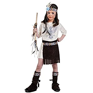 Limit Sport MI963 - Disfraz de india para niña, talla 4