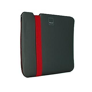 Acme Made Skinny Sleeve for MacBook 12-Inch - Grey/Poppy Orange