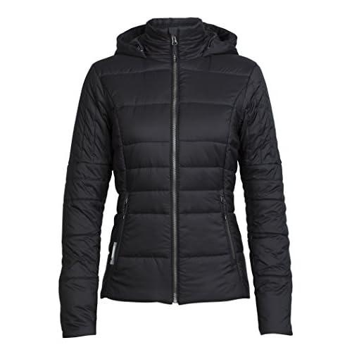 41UPsL5vQEL. SS500  - Icebreaker Women's Stratus X Hooded Jacket