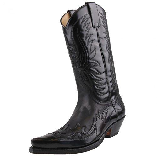 Sendra Boots, Stivali da motociclista donna Nero (Nero)