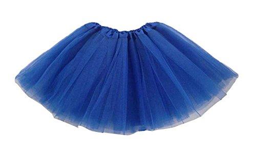 niceeshop(TM) Kinder Mädchen Modern Ballett Verkleiden Fee Tutu Rock, Königsblau, One (Kostüm Blaue Kind Fee)