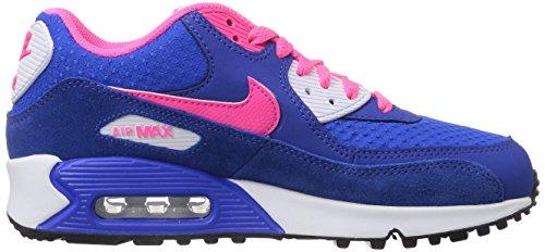 Nike Air Max 90 Junior Hyper Punch Noir Bleu - Bleu
