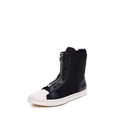 Chaussures Chaussures haute coréen bottes respirant élastique
