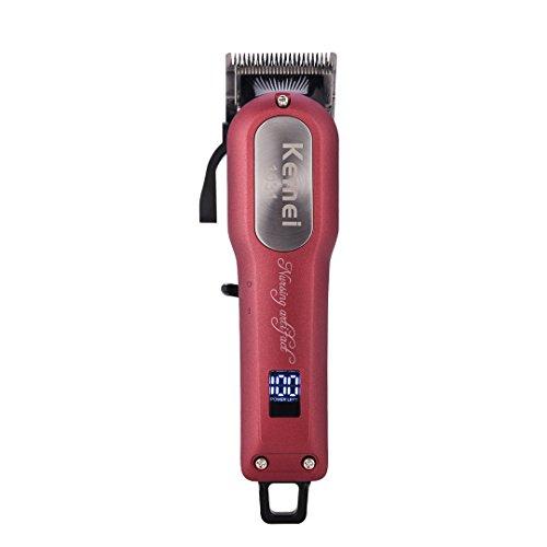 Elektrische Haarschneidemaschine, Rechargable Haircut Kit Scharfe Klinge Haarschneider