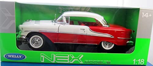 Oldsmobile Super 88 Rot Rot Rot Weiss 1/18 Welly Modellauto Modell Auto | Shop  f06446