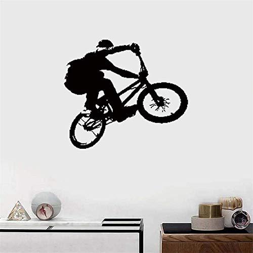 wandaufkleber schlafzimmer spruch Bike Biker Extreme Street Sport Teens -