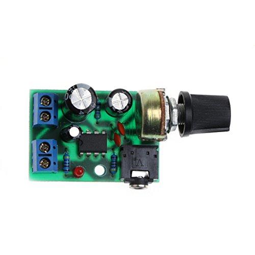 Celan LM386 Mini-Audioverstärker (Gleichstrom, 3 V ~ 12 V, 5 V) 12v Ac Mini-usb