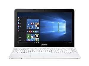 """[Ancien Modèle] Asus E200HA-FD0041T PC portable 11.6"""" Blanc (Intel Atom, 2 Go de RAM, SSD 32 Go, Windows 10)"""