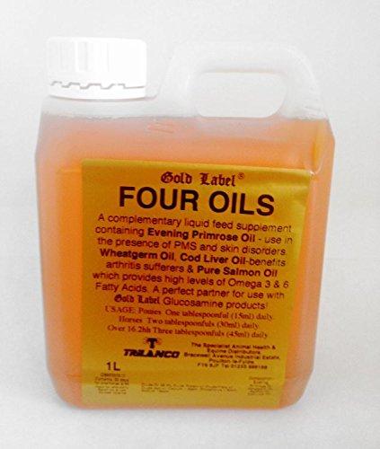 Gold Label - Horse & Canine Four Oils x 1 Lt 1