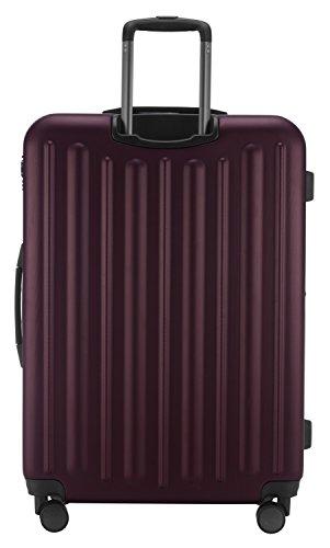 HAUPTSTADTKOFFER - Tegel - Hartschalenkoffer Koffer Trolley Rollkoffer Reisekoffer, TSA, 75 cm, 128 Liter, Burgund - 4