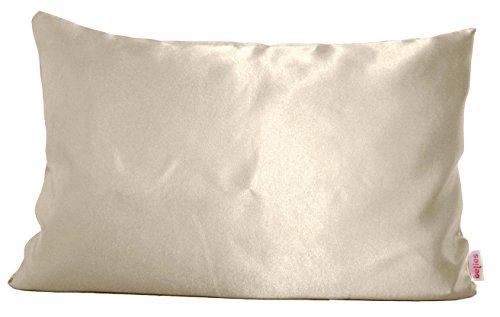 beties Glanz Satin Kissenbezug 40x60 cm anschmiegsam & edel 100% Polyester in 4 beliebten Größen Farbe (champagner)