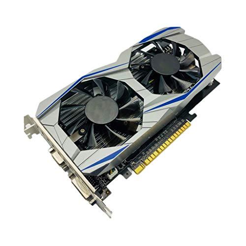 Brucelin GTX1050Ti-4G, Grafikkarte GTX1050Ti 4 G, Videokarte, DDR5, 128 Bit, PCI Express 3.0, HDMI, VGA, DVI, für Computer, GPU PCI-E, für NVIDIA Geforce Games (Pci-express Ddr5)