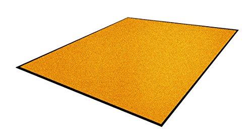 Andersen 1959575 Classic Impressions Solid Nylon Faser Innenraum Bodenmatte, Nitrilgummirücken, 830 g/sq. m, 115 cm Breite x 300 cm Länge, Gold