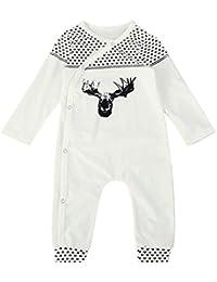 Bebe 0 -24M Grenouillère Ensemble de Pyjama Bodys a manche longue