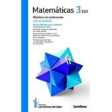 Solucionario Matemáticas 3 Eso los Caminos Del Saber Santillana