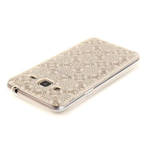 Custodia iPhone 7 Plus, iPhone 7 Plus Copertura Cover 5.5, Bling Bling Glitter flowing Liquido che scintillio galleggiante trasparente, iPhone 7 Plus Case, anti-urti cavallo e penna di tocco color-5