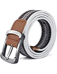 Lannister Fashion Cinturón Cinturón Lona Cinturón Hombres Hombres Y Mujeres  Cinturón Regalos De Tela Informal Cinturón ce3fc07217b8