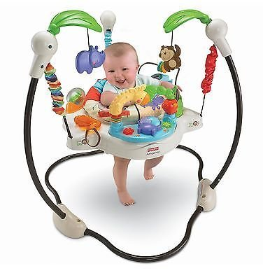 Fisher-Price Luv U Zoo Jumperoo Baby Jumper/Bouncer by Does not apply 41UQ28KNL5L