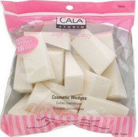 Cala International Make-Up Sponge Assortment Model No. 70-932 - 28 Sponges