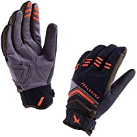 SealSkinz 100% Waterproof Glove - Windproof & Breathable - added palm protection, suitable for mountain biking in All Weather conditions