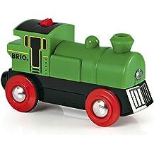 Brio - Locomotora a pilas, color verde (33595)