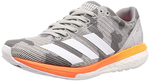 Adidas Adizero Boston 8 Women grey two/cloud white/hi-res coral