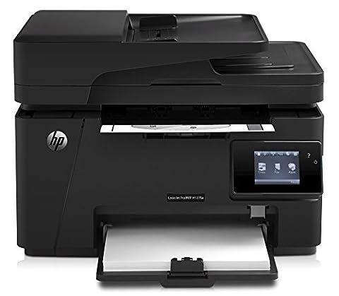 HP LaserJet Pro M127fw Laserdrucker Multifunktionsgerät (Drucker, Scanner, Kopierer, Fax, WLAN, HP ePrint, Airprint, USB, 600 x 600 dpi)