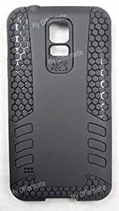 Dealz On Fancy Back Cover for Samsung Galaxy S5 SM-G900 (Black)