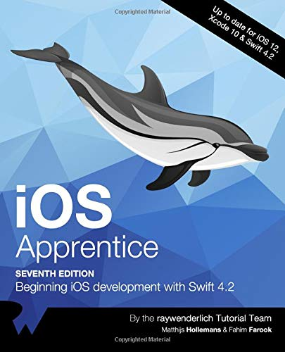 iOS Apprentice: Beginning iOS development with Swift 4.2