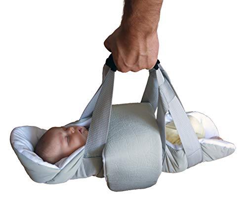 Wiegetuch Baaboo - swaddle swing - Babytrage - Tragetuch - mobile Schaukel - Babyparty Geschenk - Hebamme Wiegetuch -