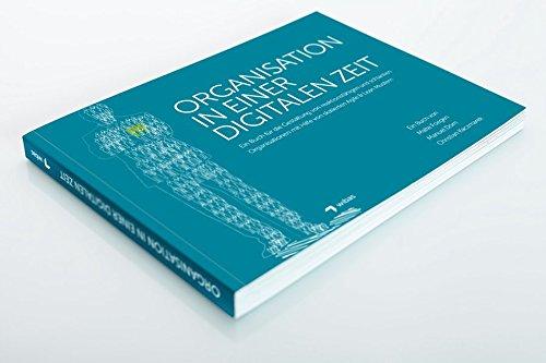 Organisation in einer Digitalen Zeit: Ein Buch für die Gestaltung von reaktionsfähigen und schlanken Organisationen mit Hilfe von skalierten Agile & Lean Mustern Buch-Cover