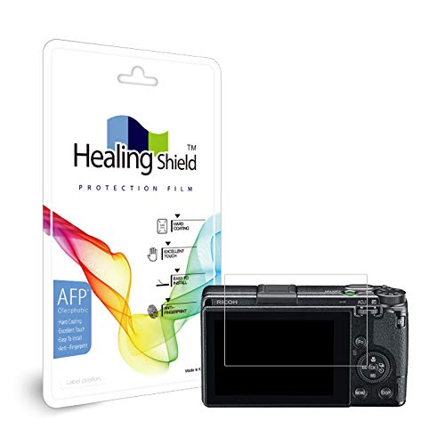 Healingshield Schutzfolie Displayschutz Screen Protector Oleophobic AFP Clear Film Compatible for Ricoh GR3 [2pc]