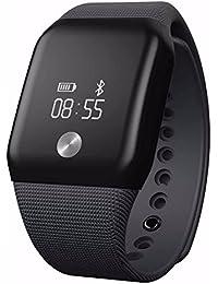 Efanr A88+ inteligente reloj de pulsera Bluetooth SmartBand para Smartwatch Reloj de pulsera podómetro Fitness Rastreador de actividad Monitor de frecuencia cardíaca monitor de oxígeno en sangre para iPhone iOS Android Smartphones