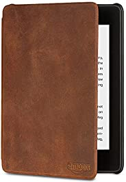Amazon Kindle Paperwhite Premium Leather Cover (10th Generation—2018 Release), Rustic