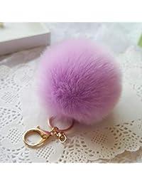 Amazon.it  Portachiavi con pelliccia  Abbigliamento 3de75242e176
