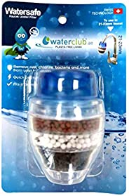 Waterclub Watersafe Faucet Filter, Clear