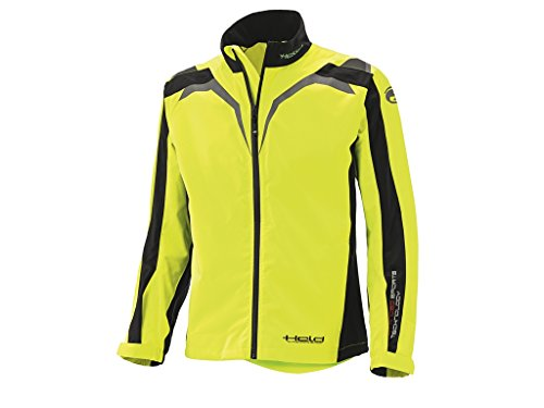 Held Textile Jacket Rainblock Top Black/Neonyellow Xl -