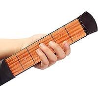 Kglobal Pocket Bois Portable Guitare outil pratique Gadget Guitar Chord formateur