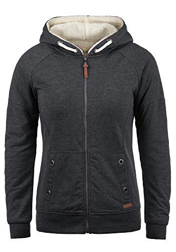 DESIRES Mandy Pile Damen Sweatshirt Pullover Pulli Mit Teddy-Futter, Größe:M, Farbe:D Gre Pil (P8288)