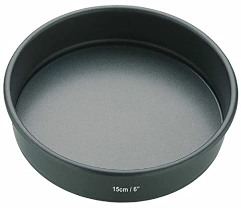 Master Class Non-Stick Round Sandwich Tin with Loose Base - 15 cm (6 inch)