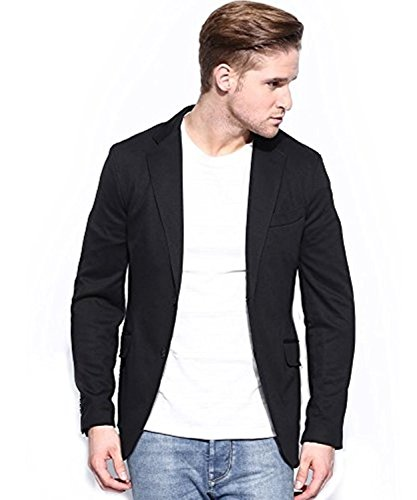 MENJESTIC Men's Slim Fit Blazer (44)  available at amazon for Rs.1800