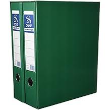 Dohe 91000 - Módulo con 2 archivadores folio, color verde