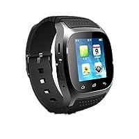 SMART Watch, akıllı saat Anti-Lost Bluetooth su geçirmez aktivite Tracker Smart Watch telefon (Support çağrıyı Antwort, SMS anı, adım sayacı, telefon defteri, kronometre, müzik çalar, tarih, alarmlı saat/kronometre, Anti-Lost Alert, kadran, kronometre)