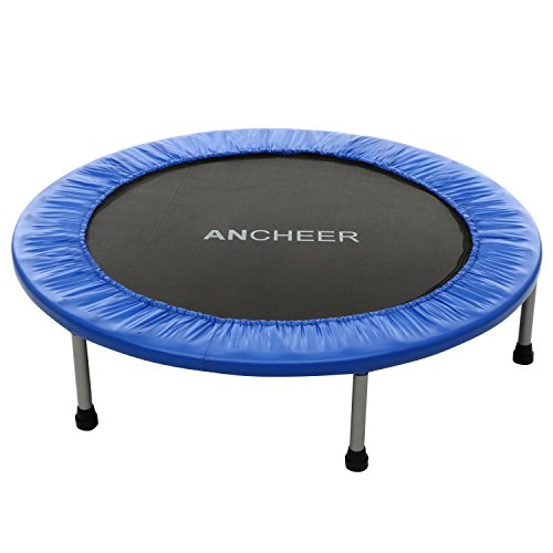 Ancheer Safety Rebounder Trampoline Garden Exercise Trampoline for Adults and Kids ( Size: 38 Inch/ 40 Inch/ 48 Inch/ 54 Inch, Max. User Weight: 220 lbs, Type: Folding )