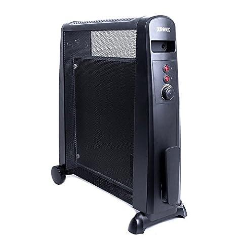 Duronic HV101 Wärmwellen Heizgerät / Heizer 2500 Watt mit Thermostat, Mica Heizelement – wärmt in 1 Minute (Heizkörper Isolierung)