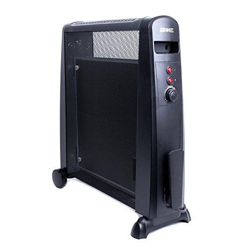 Duronic HV101 - Stufa elettrica senza olio con tecnologia MICA con termostato - 2500W