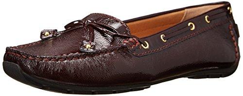 Chaussures Clarks Dunbar Racer Boat Burgundy Patent